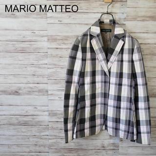 シップス(SHIPS)のイタリア製 MARIO MATTEO 比翼チェックジャケット(テーラードジャケット)