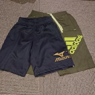 アディダス(adidas)の130 ハーフパンツ二枚セット(パンツ/スパッツ)