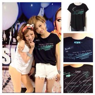 スライ(SLY)のSLY落書きT-SH(Tシャツ(半袖/袖なし))