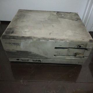 エヌイーシー(NEC)のpc9801 rx(デスクトップ型PC)