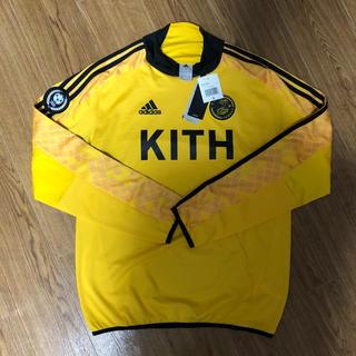 アディダス(adidas)のKITH adidas soccer jersey S L/S Tee(Tシャツ/カットソー(七分/長袖))