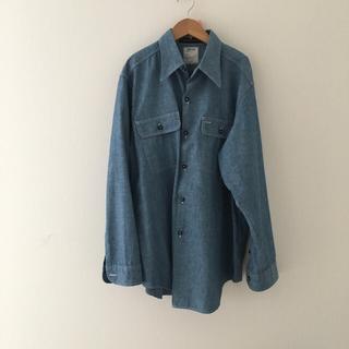 マディソンブルー(MADISONBLUE)のMADISON BLUE マディソンブルー  シャンブレーシャツ デニムシャツ(シャツ/ブラウス(長袖/七分))