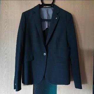 オリヒカ(ORIHICA)のオリヒカ ウォッシャブル ジャケット グレー 11号 ORIHICA スーツ(テーラードジャケット)