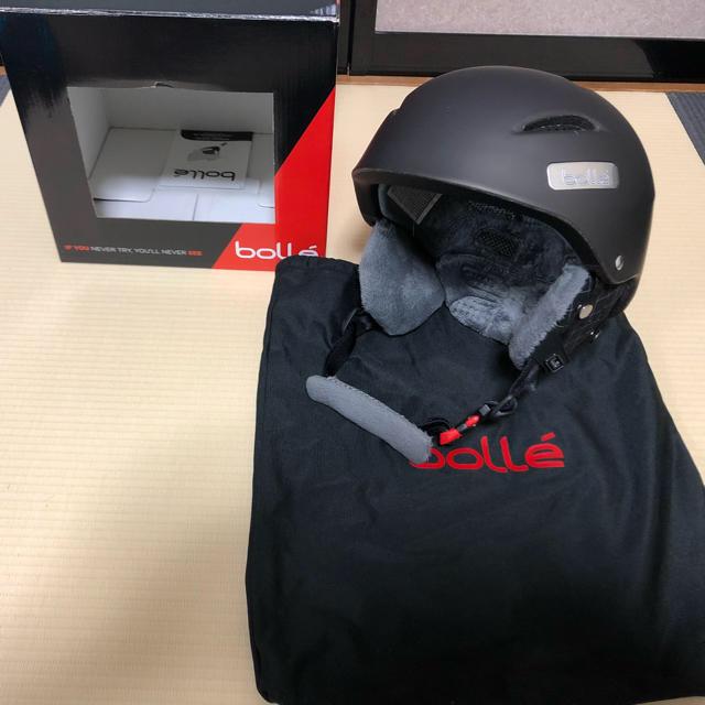 bolle(ボレー)のjkkpapa様専用  bolle  ヘルメットとゴーグルセット スポーツ/アウトドアのスノーボード(ウエア/装備)の商品写真