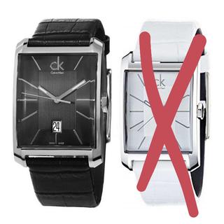 カルバンクライン(Calvin Klein)の新品 CK メンズ 腕時計 K2M21107 レザー (腕時計(アナログ))