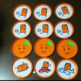 サントリー(サントリー)のなっちゃん オレンジ コースター 12枚セット(テーブル用品)
