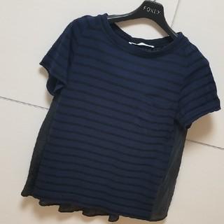 サカイラック(sacai luck)のサカイラック サカイ ボーダー 半袖 Tシャツ トップス(Tシャツ(半袖/袖なし))