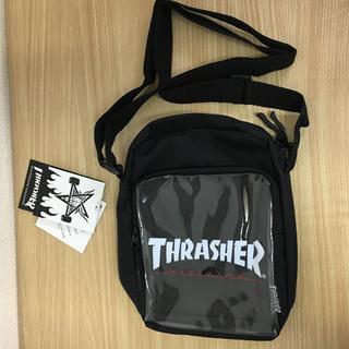 スラッシャー(THRASHER)の新品 スラッシャー ミニ ショルダー ブラック ユニセックス サコッシュ(ショルダーバッグ)
