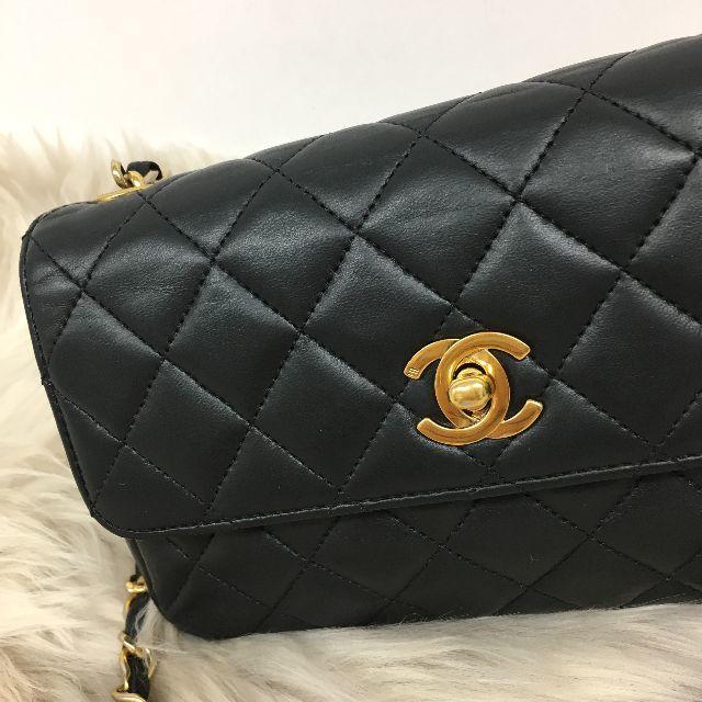 7f4213d04939 CHANEL(シャネル)のシャネル ミニマトラッセ チェーンショルダーバッグ 黒 レディースのバッグ(