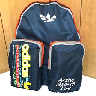 アディダス(adidas)のほぼ未使用 90's adidas バックパック(バッグパック/リュック)
