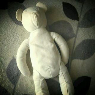 ムジルシリョウヒン(MUJI (無印良品))の未使用!無印良品 クマのハーブピロー(ぬいぐるみ)