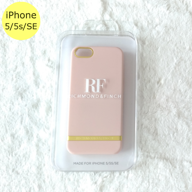 iphone7 ケース セーラームーン - リッチモンドアンドフィンチ サテン ピンク iPhone5/5s/SEケースの通販 by Pochi公's shop|ラクマ