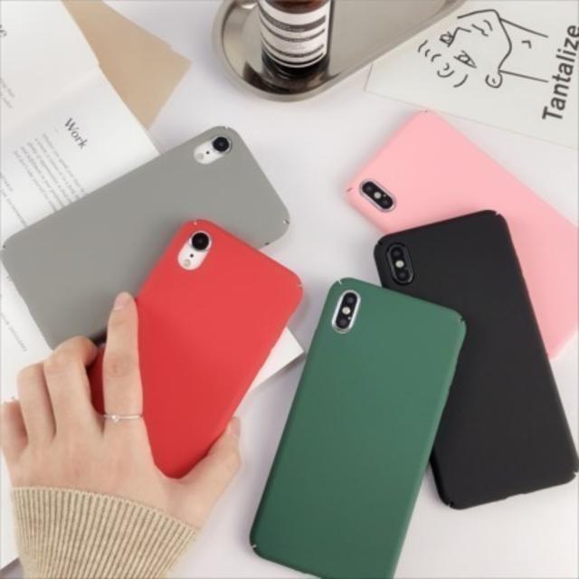 大人 iphone7 ケース - シンプル 無地 つや消し iPhone ca6470の通販 by Kee shop|ラクマ
