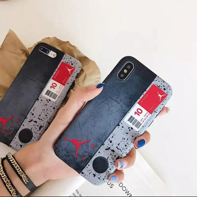 iphone8 ケース 財布型 | Nike iPhoneケース AIR ジョーダン ブランド の通販 by リツshop 海外|ラクマ