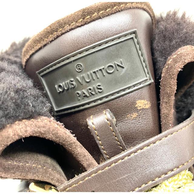LOUIS VUITTON(ルイヴィトン)のLOUIS VUITTON☆ スニーカー モノグラム ボア レディースの靴/シューズ(スニーカー)の商品写真