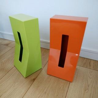 フランフラン(Francfranc)のFrancFranc ボックスティッシュケース 2個セット(ティッシュボックス)