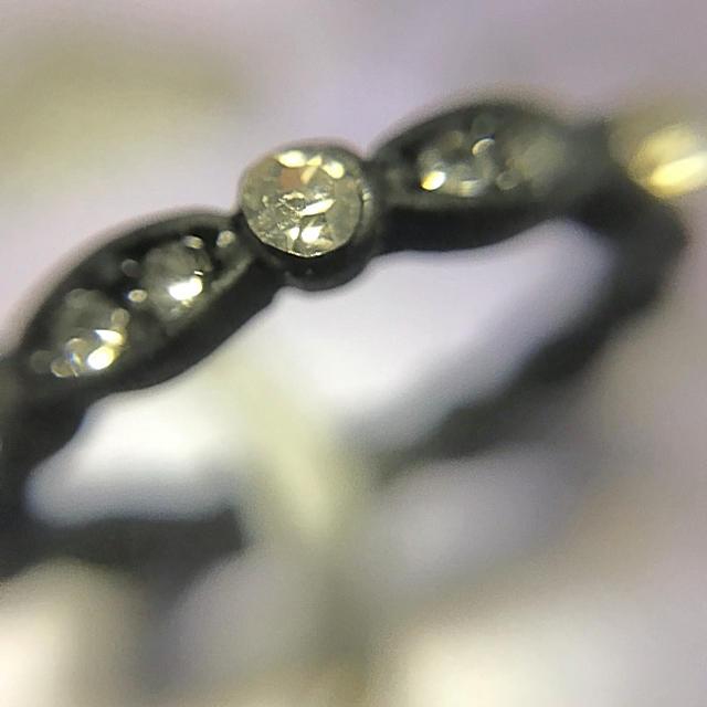 claire's(クレアーズ)の新品★ブラック指輪 レディースのアクセサリー(リング(指輪))の商品写真