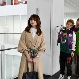 レディメイド(LADY MADE)のレディメイド♡スカーフベルトフレアトレンチ(トレンチコート)