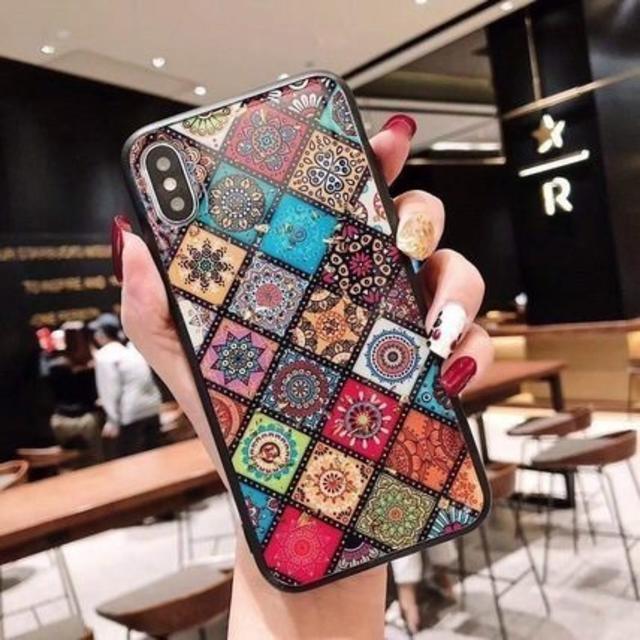 ケース エスニック iPhone CA213217の通販 by ココアショップ|ラクマ