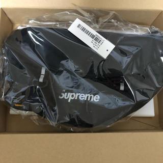 シュプリーム(Supreme)のsupreme  19SS waist bag ウエストバッグ  黒 BLACK(ウエストポーチ)