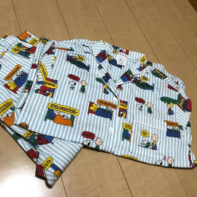 gelato pique(ジェラートピケ)のジェラートピケ スヌーピー コラボ 限定パジャマ レディースのルームウェア/パジャマ(パジャマ)の商品写真