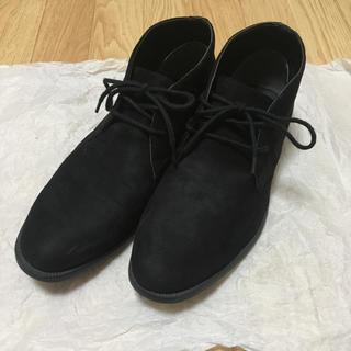 ジーユー(GU)のGU スエード チャッカブーツ(ブーツ)