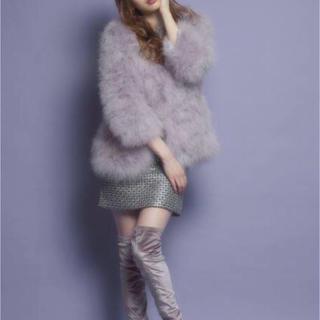 リルリリー(lilLilly)のリルリリー  のピンクファーコート(毛皮/ファーコート)