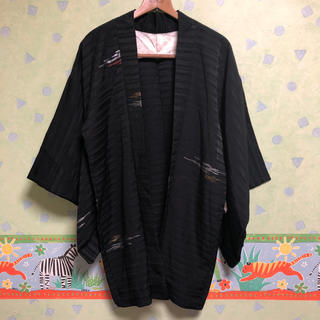 値下げOK 着物 浴衣 黒 未使用 ジンベエ 夏祭り 外国人のお土産に(着物)