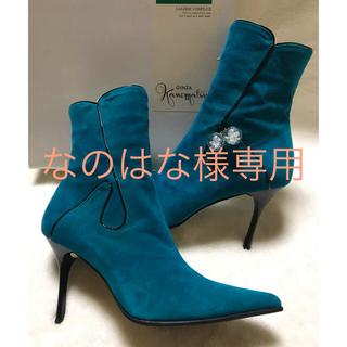 ギンザカネマツ(GINZA Kanematsu)のなのはな様専用 ☆銀座かねまつ ショートブーツ  24cm(ブーツ)