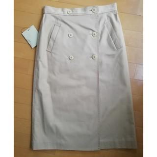 アクアスキュータム(AQUA SCUTUM)のえいえいおう様専用アクアスキュータムトレンチスカート裏クラブチェック11号(ロングスカート)