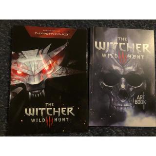プレイステーション4(PlayStation4)のThe witcher wild hunt サウンドトラックCD&アートブック(ゲーム音楽)