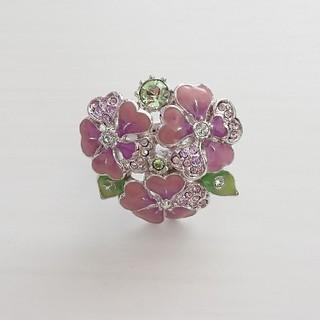 アナスイ(ANNA SUI)のANNA SUI アナスイ フラワーブーケ リング 指輪 新品(リング(指輪))