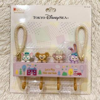 ディズニー(Disney)のダッフィー かくれんぼ キーフック (インテリア雑貨)