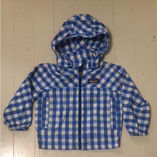 パタゴニア(patagonia)のパタゴニア 薄手アウター ブルー 男児 12mから18m(ジャケット/上着)