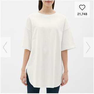 ジーユー(GU)のGU ヘビーウェイトオーバーサイズT(Tシャツ(半袖/袖なし))