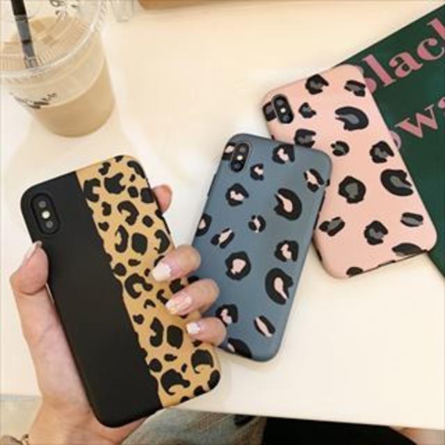 おしゃれ ヒョウ柄 ピンク iPhone CAS181195の通販 by momoshop|ラクマ