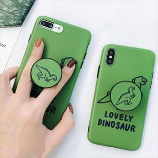 恐竜ケース iPhone(アイフォン)CA218222の通販 by momoshop|ラクマ