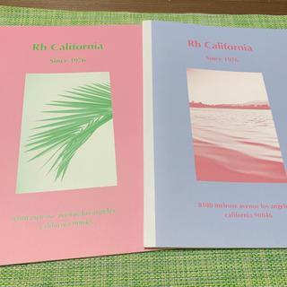 ロンハーマン(Ron Herman)のロンハーマン ノート2冊セット(ノート/メモ帳/ふせん)