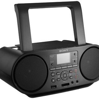 ソニー(SONY)の新品 ソニー SONY CDラジオ BluetoothZS-RS81BT(ラジオ)