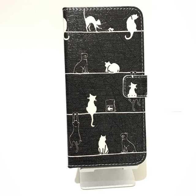 スマホケース 猫 iphone6 plus/6s plus 手帳型 耐久 保護の通販 by POKES ポータブルケース ラクマ店|ラクマ