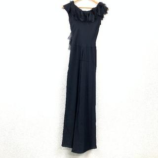 ジルサンダー(Jil Sander)の ジル・サンダー JIL SANDER 黒 ブラック ドレス サイズ 38 X(ひざ丈ワンピース)