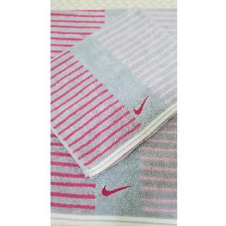ナイキ(NIKE)のナイキ  タオル 2枚セット  NIKE バスタオル&スポーツタオル 【値下げ】(タオル/バス用品)