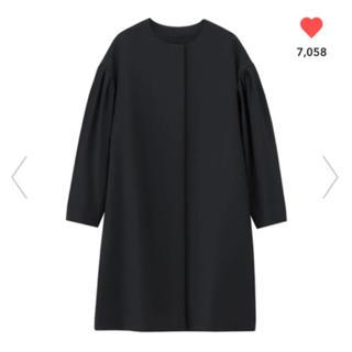 ジーユー(GU)のププ様 専用 Gu  コート ブラック(ロングコート)