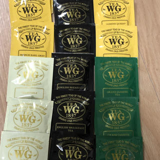 TWG イングリッシュブレックファーストを含む5種類 18個(茶)