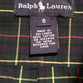 ラルフローレン(Ralph Lauren)のラルフボタンダウンシャツ YU u u u様専用(ブラウス)