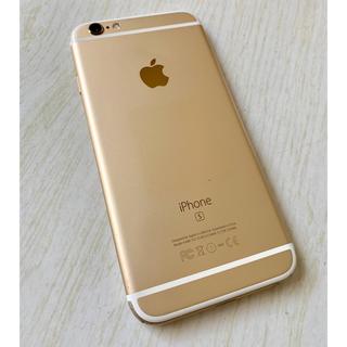 アイフォーン(iPhone)の美品♡iPhone6S 64GB ゴールド GOLD イヤホン以外全てあり(スマートフォン本体)