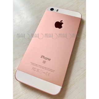 アイフォーン(iPhone)のiPhone SE 64GB ローズゴールド  SIMフリー(スマートフォン本体)