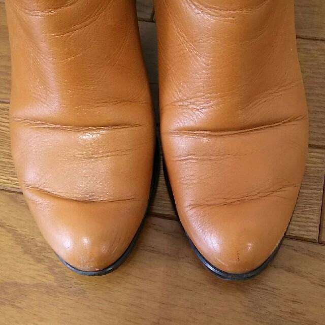 BARCLAY(バークレー)のバークレー ショートブーツ 革 24㎝ レディースの靴/シューズ(ブーツ)の商品写真