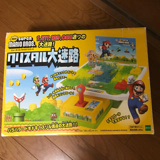 エポック(EPOCH)のnew Super Mario bros クリスタル大迷路!!(その他)