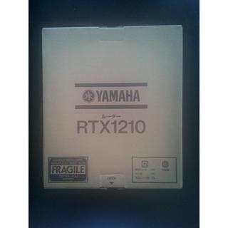 中古 ギガアクセスVPNルーター YAMAHA RTX1210 2台セット(店舗用品)